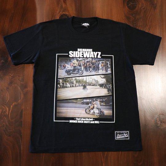BigMannie Official 【SIDEWAYZ Tシャツ】(ソフト)ブラック