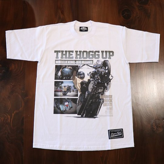 BigMannie Official 【THE HOGG UP Tシャツ】(ヘビーウェイト)ホワイト