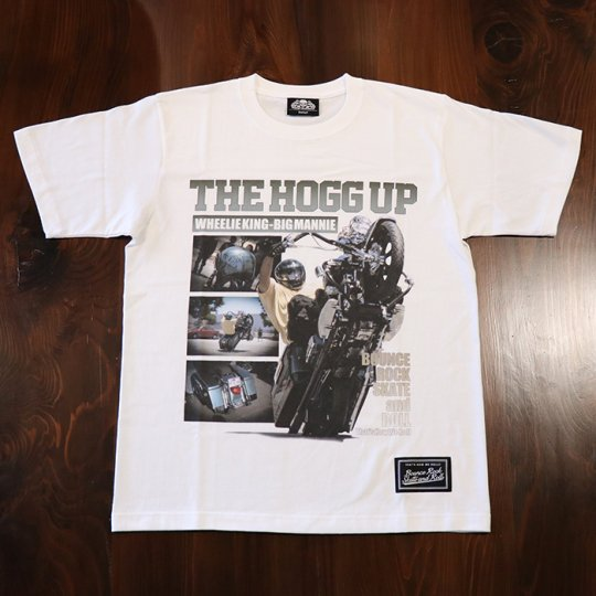 BigMannie Official 【THE HOGG UP Tシャツ】(ソフト)ホワイト