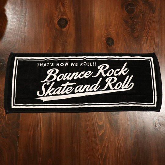 【BOUNCE ROCK SKATE and ROLL / バウンス ロック スケート アンド ロール】 タオル