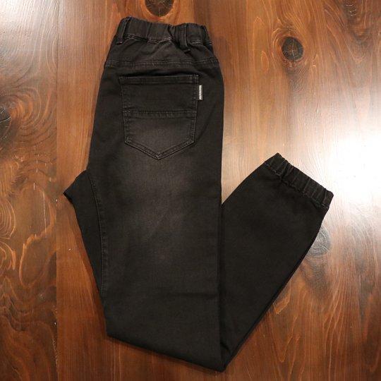 AttractStreetGear Jogger Pants Denim - ジョガーパンツ デニム ブラック
