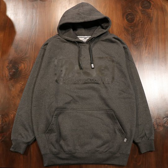 ONGROUNDCLOTHING【Ride】 Logo Hoodie (Charcoal/Blk) - フーディー パーカー チャコール/ブラック<img class='new_mark_img2' src='//img.shop-pro.jp/img/new/icons58.gif' style='border:none;display:inline;margin:0px;padding:0px;width:auto;' />