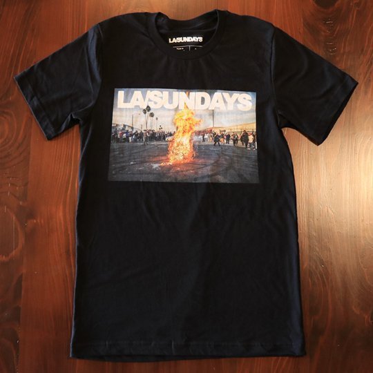 LASundays LA FLAMES T-Shirt Tシャツ