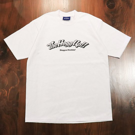 THE HOGG up MAGAZINE 【TheHoggUp!!】Support T-shirt サポートTシャツ ホワイト
