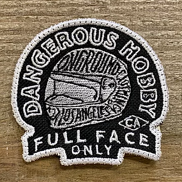 ONGROUNDCLOTHING【Dangerous Hobby】 Support Patch パッチ