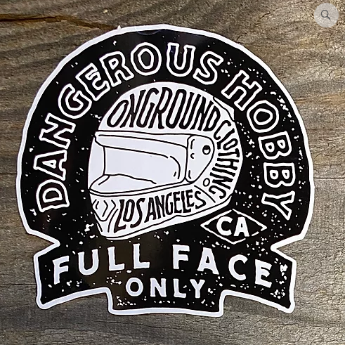 ONGROUNDCLOTHING【Dangerous Hobby】 Tool Box Sticker ステッカー