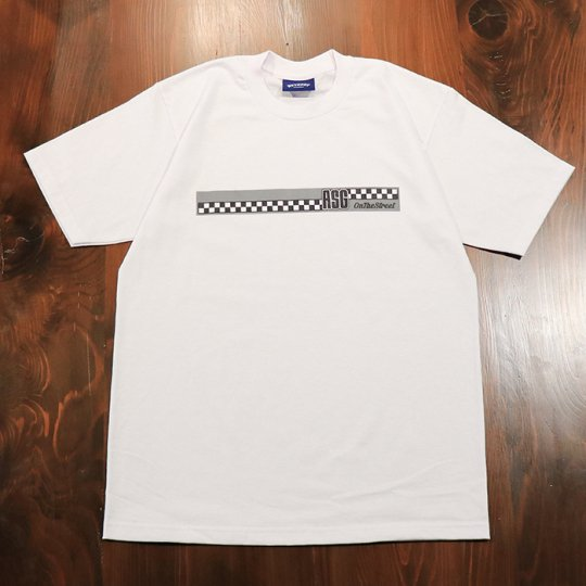 Attract Street Gear【ASG】T-shirt Tシャツ ホワイト