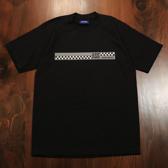 Attract Street Gear【ASG】T-shirt Tシャツ ブラック