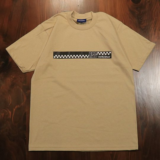 Attract Street Gear【ASG】T-shirt Tシャツ カーキ