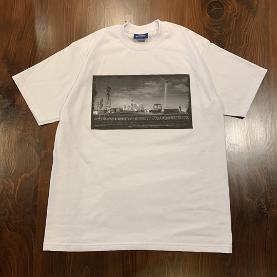 Attract Street Gear【California Photo】T-shirt Tシャツ TYPE-A ヘビーウェイト ホワイト
