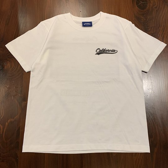Attract Street Gear【California Photo】T-shirt Tシャツ TYPE-B ソフト ホワイト