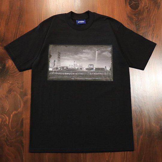 Attract Street Gear【California Photo】T-shirt Tシャツ TYPE-A ヘビーウェイト ブラック