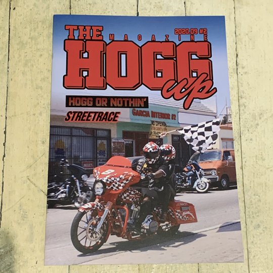 THE HOGG up MAGAZINE #2 2020.09 【再入荷分】