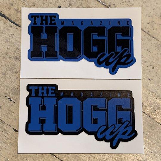 THE HOGG up MAGAZINE 【THE HOGG up MAGAZINE】Support Sticker サポートステッカー 2枚セット No.3(ロイヤルブルーセット)