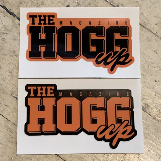 THE HOGG up MAGAZINE 【THE HOGG up MAGAZINE】Support Sticker サポートステッカー 2枚セット No.8(オレンジセット)<img class='new_mark_img2' src='//img.shop-pro.jp/img/new/icons5.gif' style='border:none;display:inline;margin:0px;padding:0px;width:auto;' />
