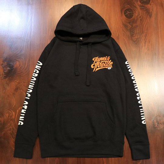 ONGROUNDCLOTHING【Tunes & Throttle】HOODIE ブラック