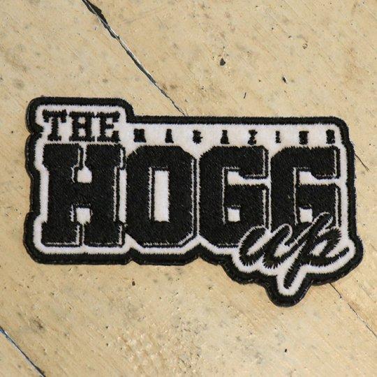 THE HOGG up MAGAZINE 【THE HOGG up MAGAZINE】Support  patch サポートパッチ ホワイトベース/ブラック文字