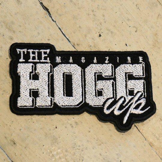 THE HOGG up MAGAZINE 【THE HOGG up MAGAZINE】Support  patch サポートパッチ ブラックベース/ホワイト文字