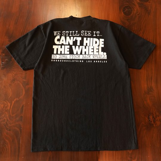 ONGROUNDCLOTHING【We Still See It】 Tee  Tシャツ ブラック