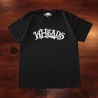 W-HEADS 「wheads Tシャツ」 ブラック / ホワイト