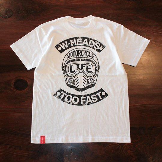 W-HEADS 「WHMC Tシャツ」 ホワイト