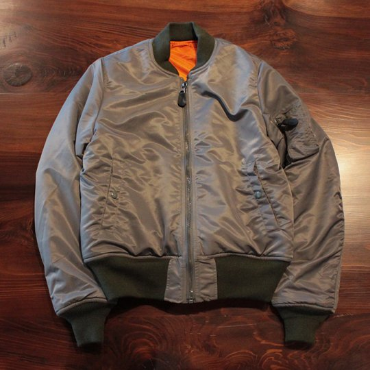 Attract Street Gear MA-1 Flight Jacket  SAGE