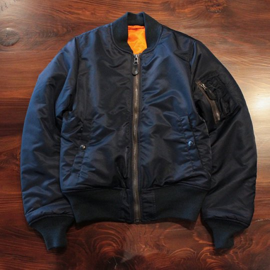 Attract Street Gear MA-1 Flight Jacket  NAVY