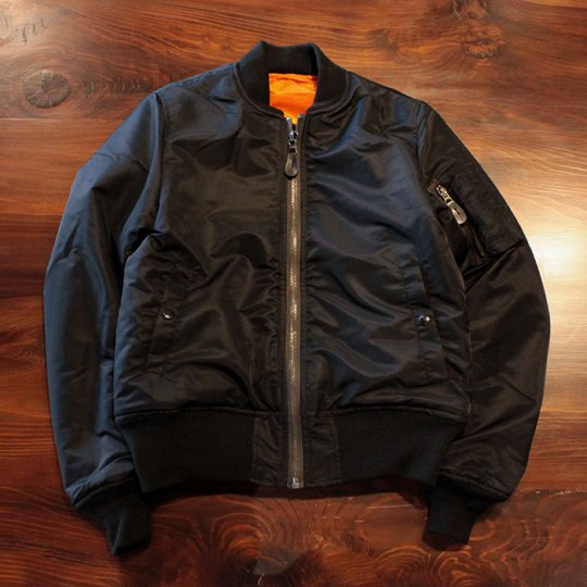 Attract Street Gear MA-1 Flight Jacket  BLACK