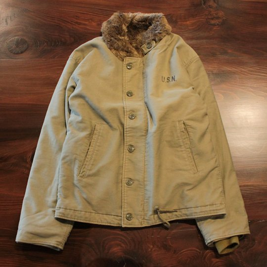 Attract Street Gear N-1 Deck Jacket Khaki