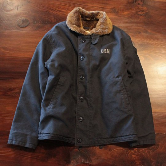 Attract Street Gear N-1 Deck Jacket Navy