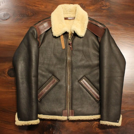 DESPERADO LEATHER CLOTHING 【デスペラード レザー クロージング】 Lambskin Flight Jacket B-6 Type フライトジャケット
