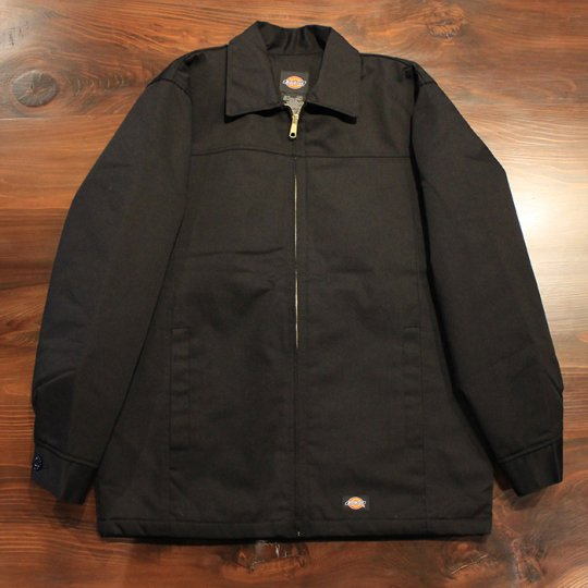 Dickies insulated panel jacket Black ディッキーズ パネルジャケット 黒