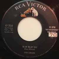Don Gibson - Blue Blue Day - OLD HAT GEAR