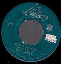 Eddie Cochran - C'mon Everybody - OLD HAT GEAR