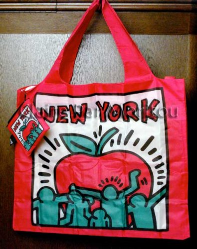 91210LOQI KEITH HARING New York トートバッグ