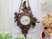 逸品 ロココ天使の掛け時計