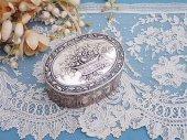 純銀 花かご装飾 コフレアビジュー