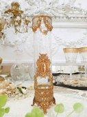 逸品 バカラスタイル 天使のオルモルフラワーベース