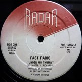 FAST RADIO / under my thumb