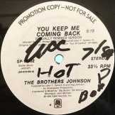 BROTHERS JOHNSON / you keep me coming back