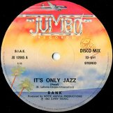 BANK / it's only jazz