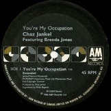 CHAZ JANKEL / you're my occupation