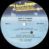 KEEP IT COMING FEATURING LORNA / k.i.c. (keep it coming)