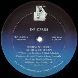 EXP EXPRESS / express yourself (with a little exp)