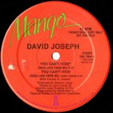 DAVID JOSEPH / you can't hide (your love from me)