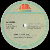 SYLVESTER / don't stop