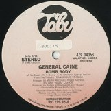 GENERAL CAINE / bomb body