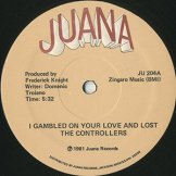 CONTROLLERS / i gambled on your love and i lost