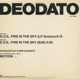 DEODATO / s.o.s.,fire in the sky