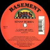 KENNY BOBIEN / u gave me love